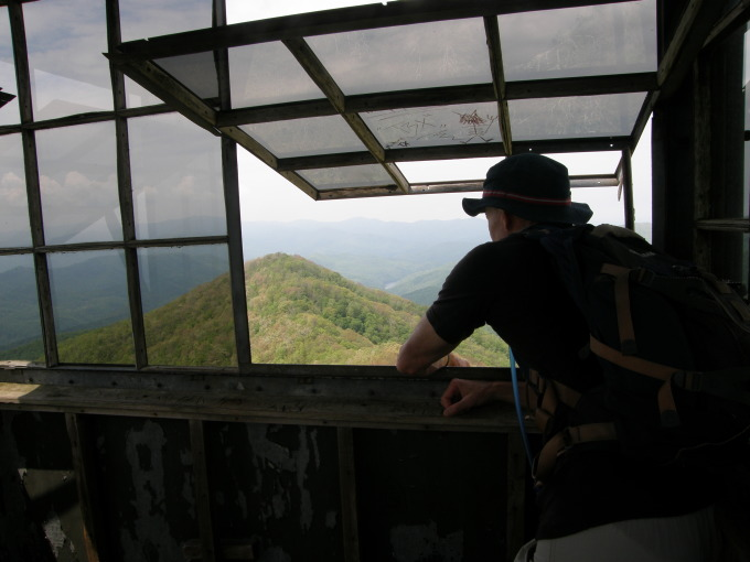 Hiking To Shuckstack Lookout Tower In The Smokies