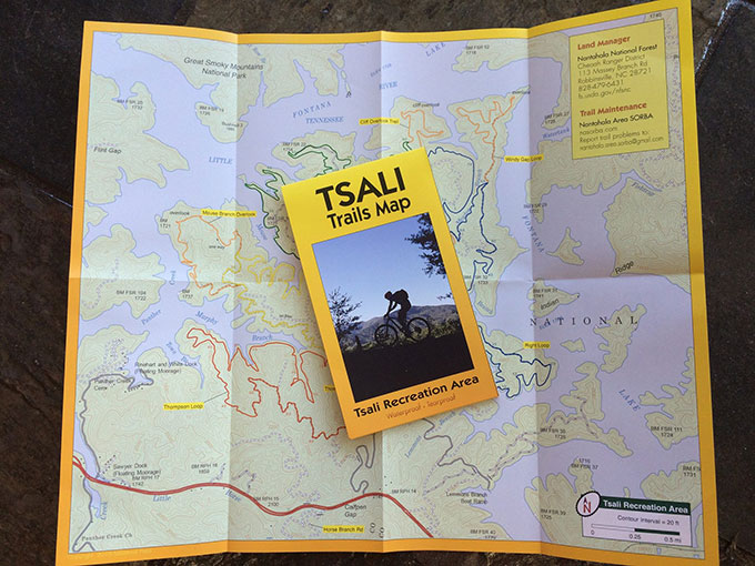 New Trails Map Gives Back To Tsali