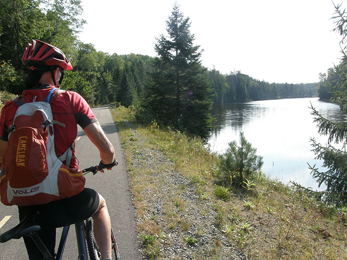 Getting Out Of Our Backyard: Cycling Quebec's Petit Train Du Nord