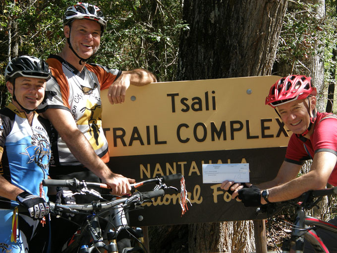 Milestone Press Donates Map Proceeds For Tsali Trails
