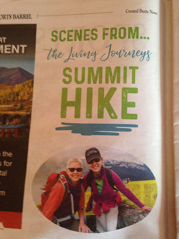 Taking A Hike For A Good Cause