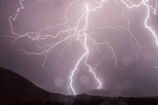 Hiking In The Season Of Thunderstorms